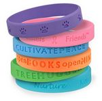 Custom Debossed Silicone Wristband