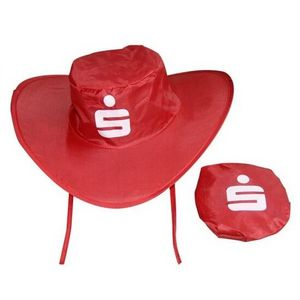 836a9dca86011 Collapsible Cowboy Hat w  Pouch - FH01 - IdeaStage Promotional Products