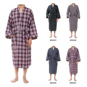 Custom Men's Classic Plaid Robes