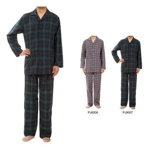 Custom Men's Classic Plaid Pajama Sets, Sleepwear, Lounge Wear