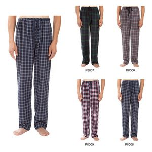 Custom Men's Classic Plaid Pajama Pants, Sleepwear, Lounge Wear