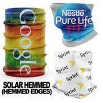Hemmed Solar Full Color Neck / Face Gaiter Mask