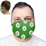 Custom Full Color Cloth Ear Loop Face Mask