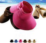 Custom Wide Brim Lady Beach Hat
