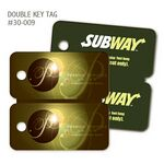 Custom Plastic Keytags /Single key tags - Manufactured in the USA