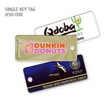 Custom Plastic Keytag Single Key tags - Manufactured in the USA