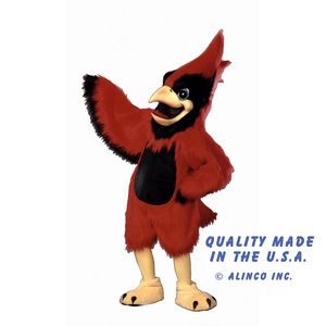 11c638b7 Cardinal Mascot Costume - AL411 - IdeaStage Promotional Products