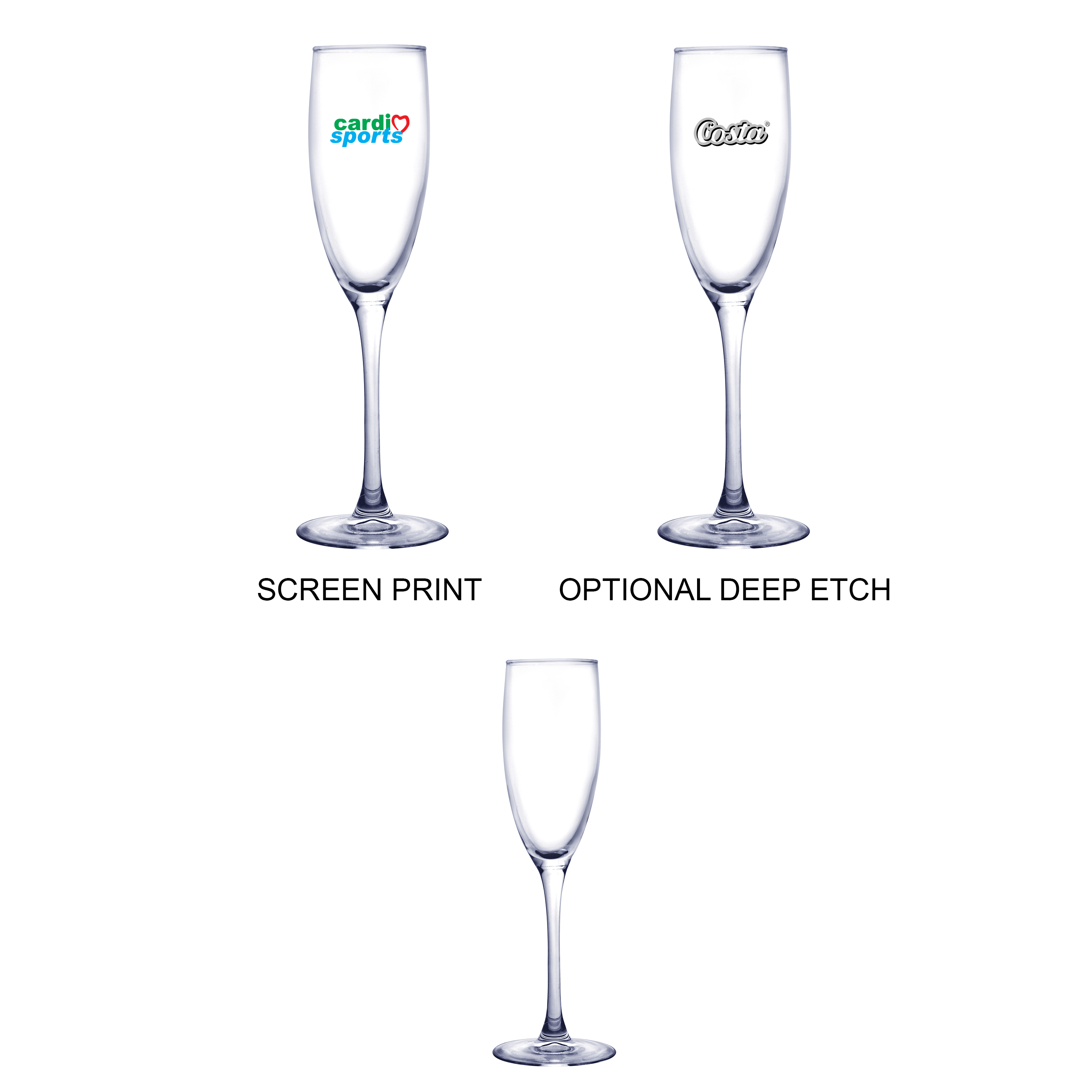5.75 Oz. Champagne Glass, 2.75