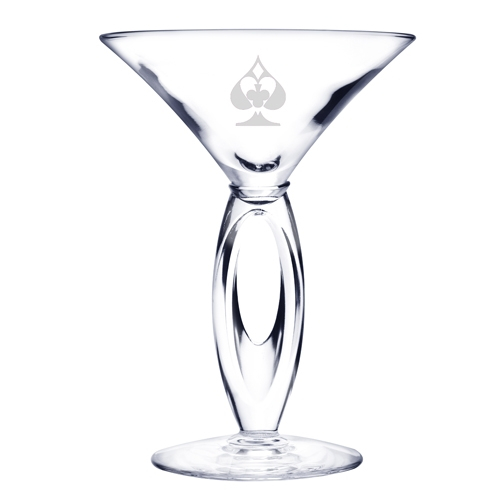 6.75 Oz. Omega Martini Glass, 4.75