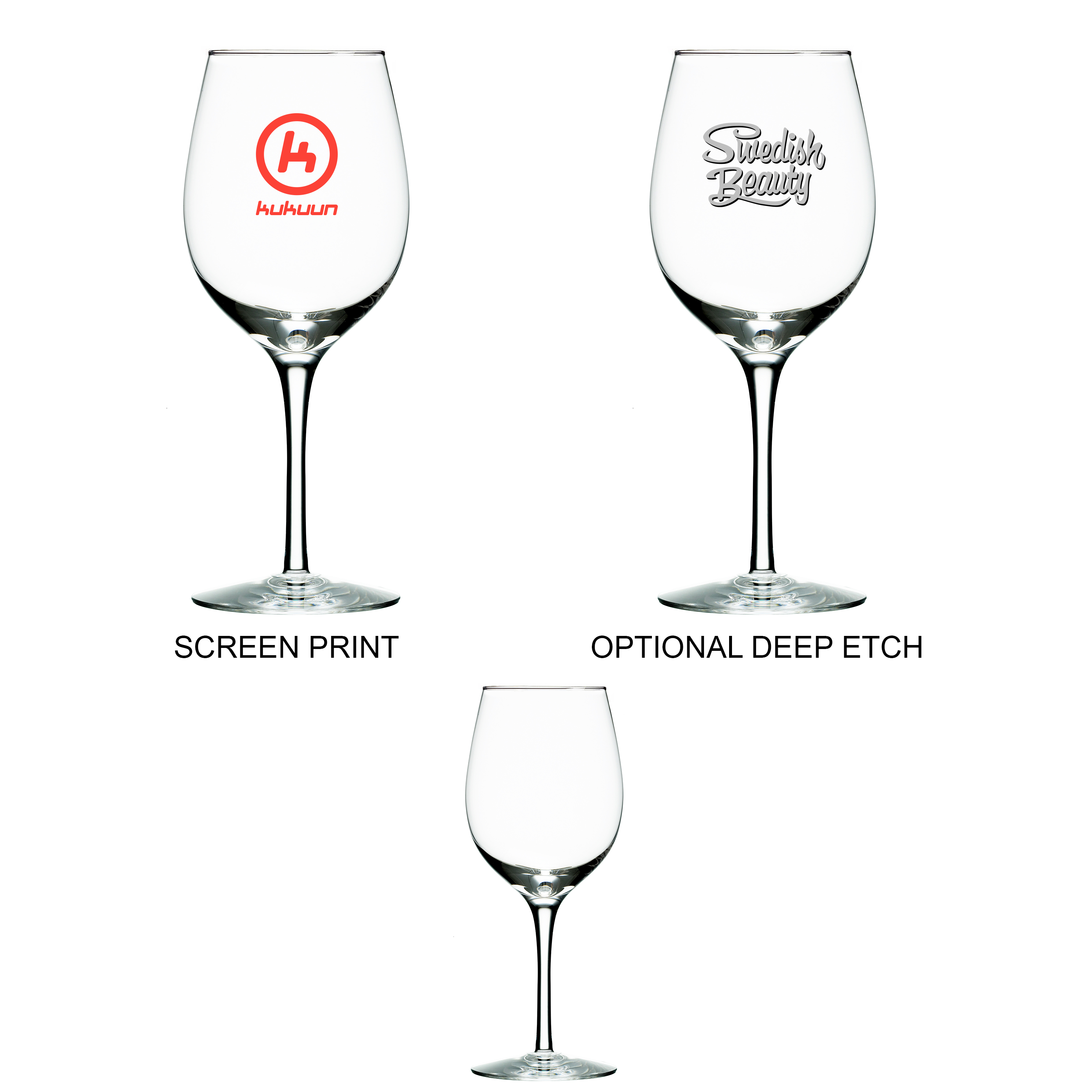 12 Oz. Wine Glass, 2.5