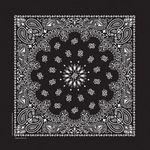 Paisley Cotton Bandanna (Imported) - Blank