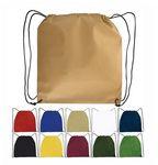 Custom Non-Woven Drawstring Backpack - Blank
