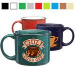 Custom 13 Oz. Classic Campfire Speckled Ceramic Coffee Mug