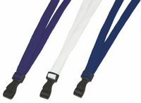 Polyester Lanyards w/Plastic Attachment