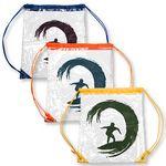 Custom Clear PVC Drawstring Backpack w/Matching Drawstring
