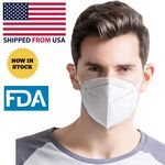 Custom KN95 Grade USA Antibacterial FDA Approved Face Mask