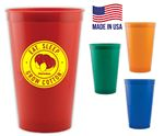 Custom Stadium Cup USA made 22 oz
