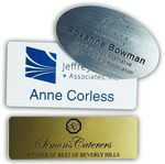 Custom Name Badge - Plastic Engraved (1