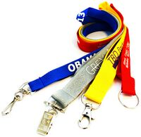 1/2 Economy Custom Polyester Lanyards (12 mm) Wide