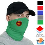 Polyester Neck Gaiter w/ Custom Logo Safety Face Bandana
