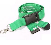 Detachable Quick Release & Safety Breakaway Combo Lanyard