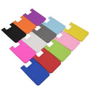 1-Pocket Silicone Phone Wallet
