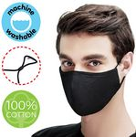 4 Layer Heavy Duty Cotton Face Mask w/Adjustable Ear Loop