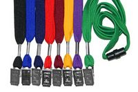 Blank Flat Lanyards w/ Safety Breakaway