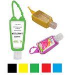 Custom Antibacterial Hand Sanitizer w/ Carabiner 30 ml Custom Logo