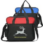 Custom Promotional Economy Laptop Messenger Bag w/Shoulder Strap
