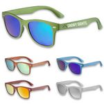 Neon Sungalsses w/ Mirrored colored lenses UV protection