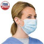 Custom Disposable 3 Ply Anti-Virus Face Mask