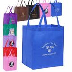 Custom Grocery Value Non Woven Tote Bag