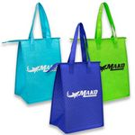 Lunch Bags - Insulated Lunch Tote bag w/ Zipper & Handles