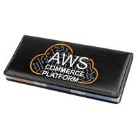 Leather Desktop Caddy with 4 piece Sticky Notepad