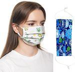Custom 2 Layer Cotton Face Mask w/ Full Color Imprint & Adjuster