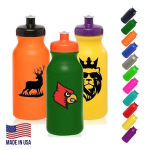 20 Oz. Plastic Water Bottle
