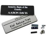 Custom Name Badge w/Engraved Personalization (1.25