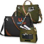 Custom Executive Laptop Bag w/Custom Imprint