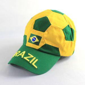 Custom Printed Soccer Ball Caps