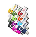 Custom USB Flash Drive Swivel 4GB