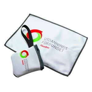 Pouch and Microfiber Cloth