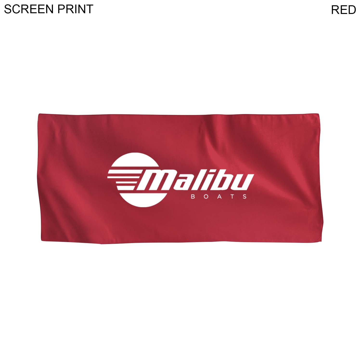 Microfiber Suede Towel, 21x45, 1 Colour Imprint (#PR449)