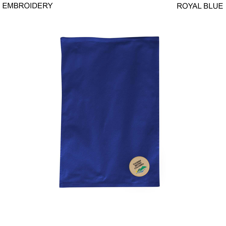 Velour Sports Towel, 12x18,  EM374, Embroidered Logo