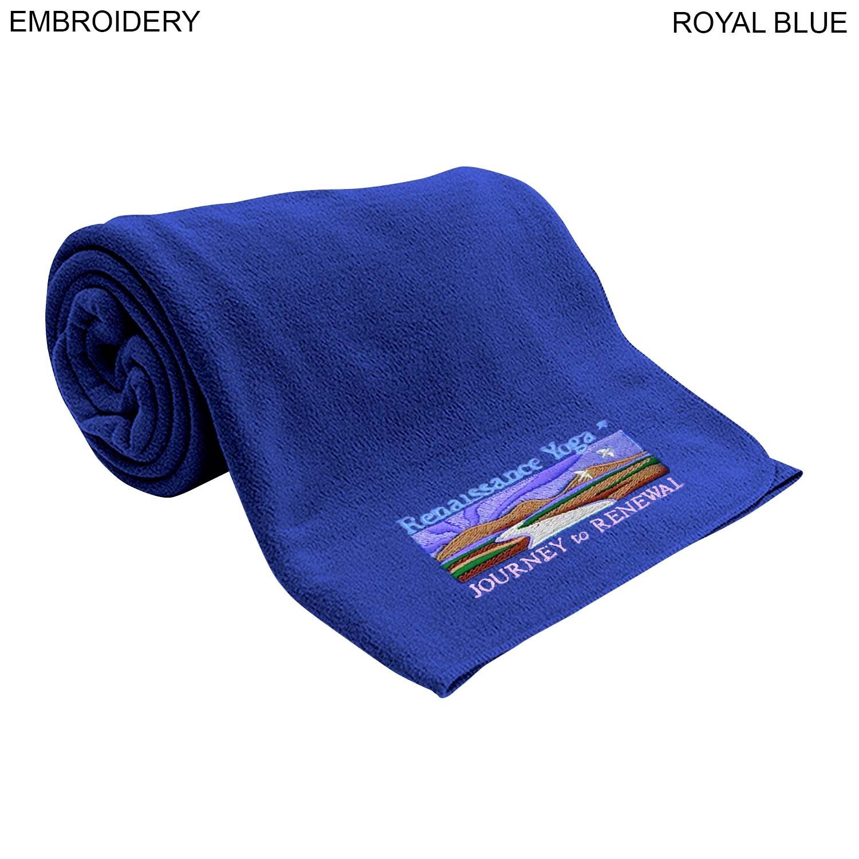 Classic Fleece Blanket 40x60, Embroidered (#EM274)