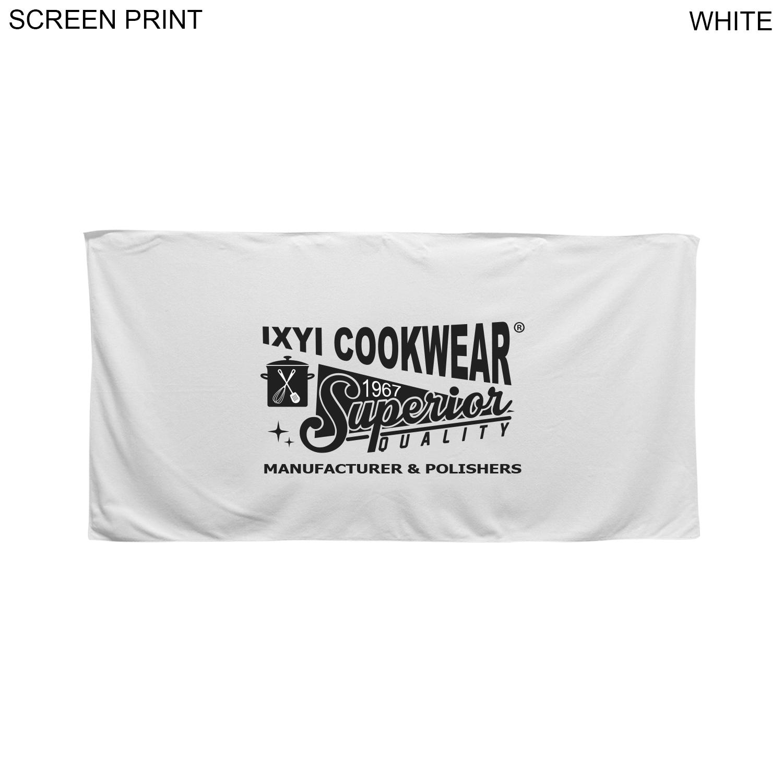 Velour Towel, 24x48,  PR631, 1 Colour Imprint