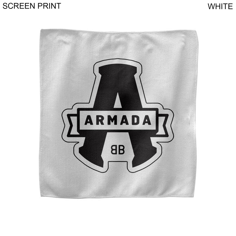 Microfiber Youth Skate Towel, 10x10, 1 Colour Imprint (#PR208-3)