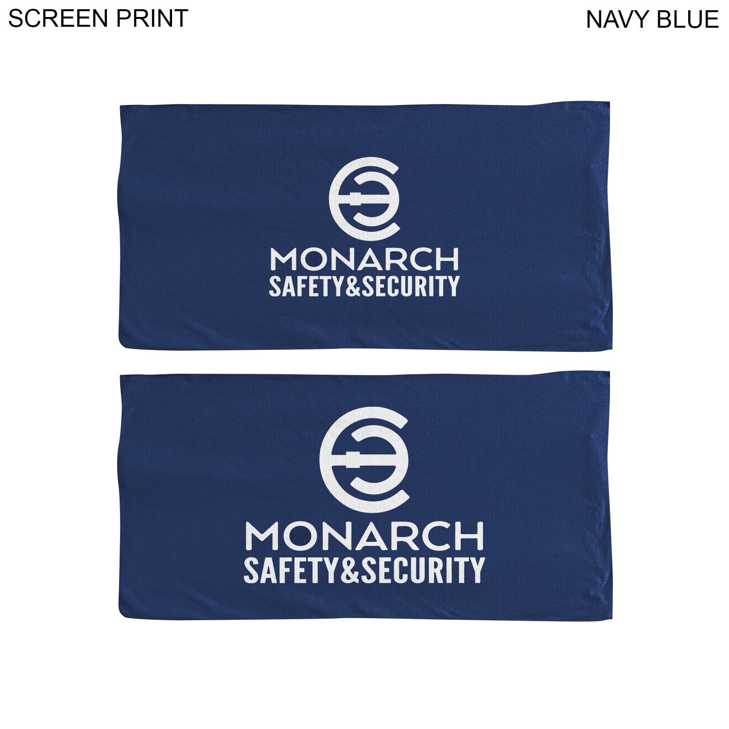 Microfiber Terry Towel 30x60, 1 Colour Imprint (#PR210C)
