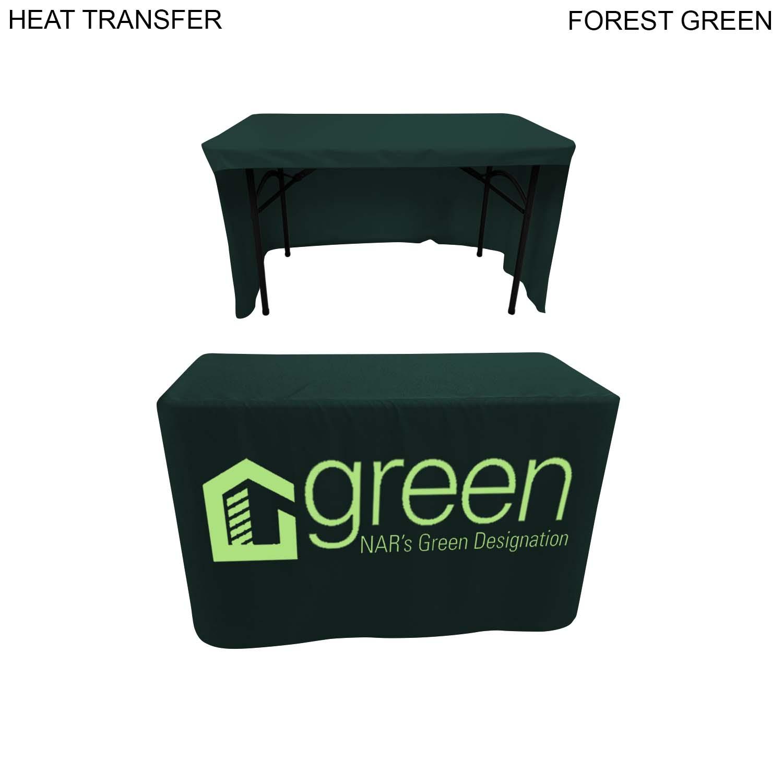 Box style cloth 4' table (Open Back), Full Colour Imprint (#HT505)
