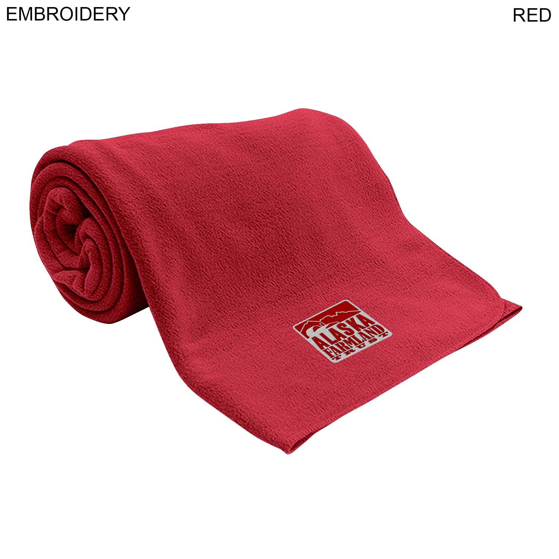 Leisure Fleece Blanket 60x60, Embroidered (#EM276)